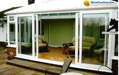 www.HireContractor.com Sliding Patio Doors performance can depend on many variables. If installed improperly, it could result in great losses of heat in winter. In summer, trying to cool your house will cost extra wasted money. #hirecontractor #patiodoors #patio