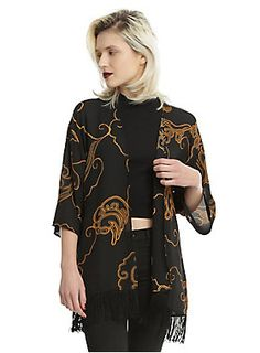 Check in to this // American Horror Story Hotel Kimono
