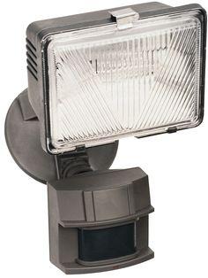 250 Watt Quartz Motion Activated Security Light