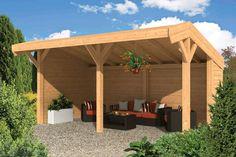 Afbeeldingsresultaat voor bouwtekening kapschuur Le Hangar, Garden Paving, Carports, Palazzo, Garden Design, Outdoor Structures, Outdoor Decor, Home Decor, Cabin Ideas