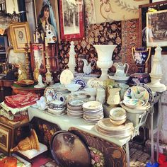 """#Lisbon """"flee market"""" - The market starts at the Arco de São Vicente, an arch near where the famous Tram 28 stops. When: 6am to 5pm, Tuesdays and Saturdays #Portugal"""