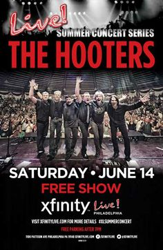 Our Live! Summer Concert Series continues this Saturday with a FREE SHOW from The Hooters on our concert stage! Who's ready to rock?! #XLSummerConcert #TheHooters