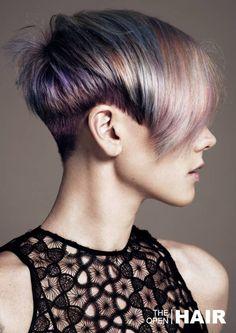 2016 荷蘭美髮大賽 年度最佳染髮技術入圍 Arjan Bevers