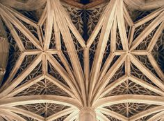 Ceiling Vaults of Chapelle de l'Hôtel de Cluny - Paris