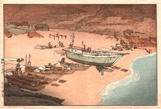 """A Beach in Boshu"" 