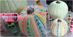 These glow in dark pumpkins are so much fun to create and so inexpensive that you may end up with decorating the neighborhood rather than just your house.