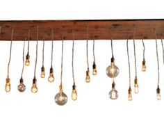 Globe Pendant Chandelier With Edison Bulbs by IndustrialLightworks