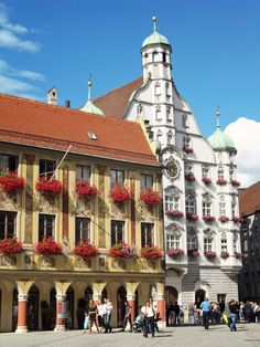 Memmingen Bayern ~ Germany.  Go to www.YourTravelVideos.com or just click on photo for home videos and much more on sites like this.