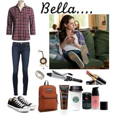 """Bella Swan Style"" by laceyjenner on Polyvore"