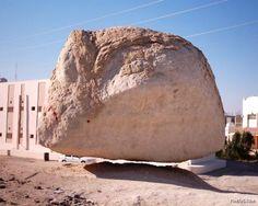 Amazing Rock In Saudi Arabia Raises 11 cm Above The Ground Level Once A Year « kurakaniz