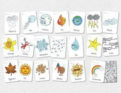 Natural Elements Flash Cards
