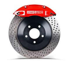 StopTech Touring Kits with better air flow one piece rotors and stiff calipers.