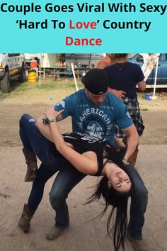 I can't say I've ever seen dance moves quite like this, especially danced to country music!  Joey Timmons and Stephanie Renee really took the center stage at this country music festival when they