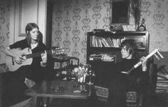 Hermione Farthingale and David Bowie 60s.