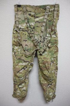 MULTICAM GEN III LEVEL 5 TROUSERS, SOFT SHELL COLD WEATHER, MEDIUM REGULAR, USED