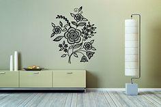 Wall Vinyl Sticker Decals Mural Room Design Pattern Flowers Bouquet Daisies Nature bo196