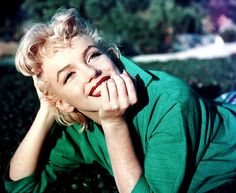Great smile from Marilyn!