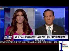 Santorum: Trump Speaks Up For Middle America - The Real Story | 1Plus News