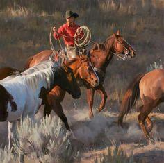 Tom Browning, Cowboyin.