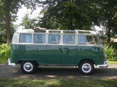 Volkswagen Typ 241 Samba bus als Van/Kleinbus in Someren