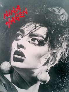 Nina Hagen, Concert Posters, Gig Poster, El Rock And Roll, New Romantics, Post Punk, Postmodernism, Vintage Love, Photos