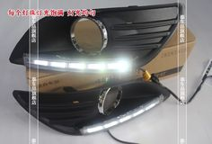 (63.99$)  Watch here - http://ai5uu.worlditems.win/all/product.php?id=32215156686 - Free shipping daytime running lights LED Car DRL for Ford Focus 2 sedan 2009-14,Circular fog lamp frame
