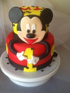 FLOWER CAKE DESIGNER: Bolo do MICKEY                                                                                                                                                                                 Mais