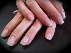 natural looking false nails - Google Search