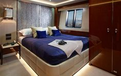 The Luxury Yacht Interior of the Princess yacht 1