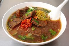 Very tasty. I ranked it as the 3rd high score among all the beef noodles I've ever tried.