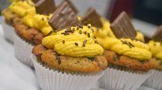 Banana Split Muffins Cupcakes schnell und einfach selber machen | Kanal ...