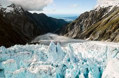 Glacier, Ice and the West Coast of New Zealand by Petr Hlavacek