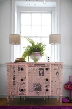 How to Renovate Junk Furniture & 199 best Pink \u0026 Pastel Painted Furniture images on Pinterest in 2018 ...