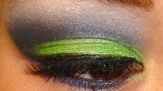 seahawks makeup tutorial - YouTube