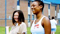 orange is the new black poussey washington Orange Is The New Black, Soso And Poussey, She Keeps Me Warm, Samira Wiley, Series Movies, Tv Series, Crazy Eyes, Cute Gay, What Is Love