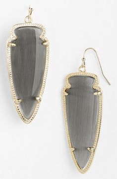 Beautiful spear statement earrings http://rstyle.me/n/n2zwmnyg6