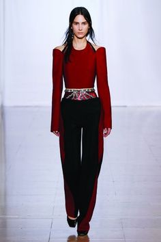 LOOK # 3  Bib - Sequin-embroidered shorts - Lozenge trousers - Sleeve accessories - Suspended 'demi-pointe' shoes