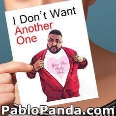 Funny Valentine Card DJ Khaled Friendship Gift by PabloPanda My Funny Valentine, Happy Valentines Day, Valentine Cards, Funny Xmas, Naughty Valentines, Valentine Ideas, Funny Christmas, Christmas Stuff, Diy Christmas
