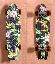 Globe Skateboards : Floral Vs Camo