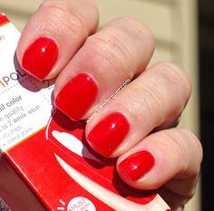 Sally Hansen Salon Gel polish- Kook a mango, White away and Red my lips