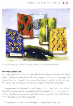 Tarot, Manual, Cover, Books, Letters, Libros, Textbook, Book, Book Illustrations