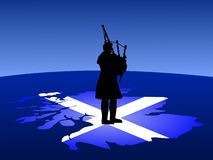 Illustration about Scottish man in kilt playing bagpipes standing on map of scotland. Illustration of instrument, flag, pipes - 2832331 Scottish Bagpipes, Scottish Music, Scottish Man, Queen Margaret Of Scotland, Traditional Stories, Men In Kilts, My Heritage, Ancient History, Celtic