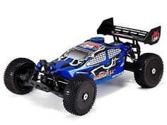 RedCat Racing Backdraft 3.5 Buggy 1/8 Scale Nitro With 2.4GHz Remote Ctrl.- Blue