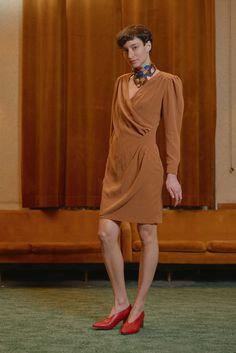 MAVTI - overlap dress Women Wear, Contemporary, Vintage, Collection, Dresses, Style, Fashion, Vestidos, Swag