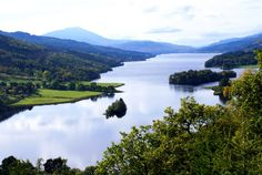 An iconic beauty spot, the Queen's View above Loch Tummel is a must for visitors to Perthshire