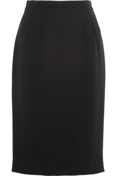 DOLCE & GABBANA TWILL PENCIL SKIRT $318 http://www.theoutnet.com/product/399595