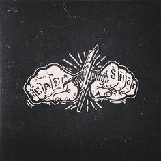 Instagram media by deckysastra - Logo project #logo#handmade #handlettering
