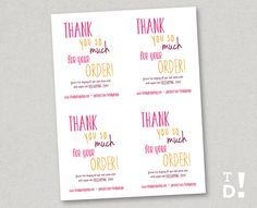 Business Thank You Card Template Business Thank You Card Instant Download  Deeply Nautical .