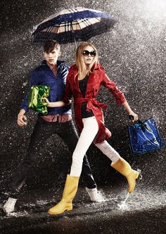 Burberry Spring/Summer 2011 April Showers Collection.
