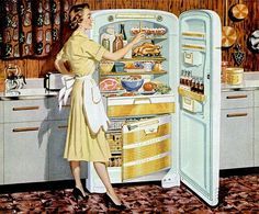 Image result for 1950s housewife family